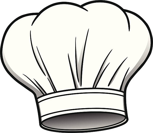 Chef Hat Chef Hat chef's hat stock illustrations