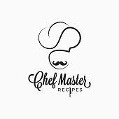 Chef  on white background 8 eps