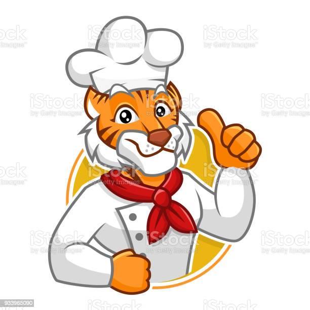 Chef tiger mascot character design vector id933965090?b=1&k=6&m=933965090&s=612x612&h=o70fvz3ey3 celp4bavnbahib9un0hz ifxfmb1lzpu=