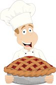 Chef with Cherry Pie