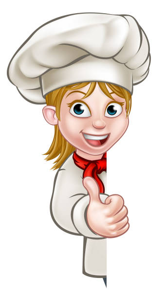 Royalty Free Female Chef Clip Art, Vector Images ...