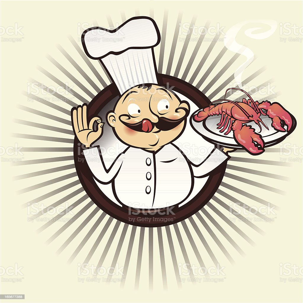chef yumm lobster royalty-free chef yumm lobster stock vector art & more images of adult