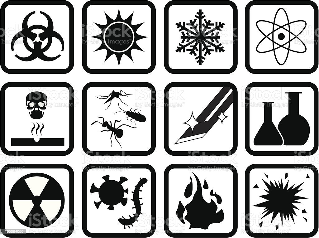 Chemical Biological Symbol Stock Vector Art More Images Of