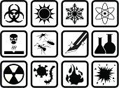 Chemical & Biological Symbol