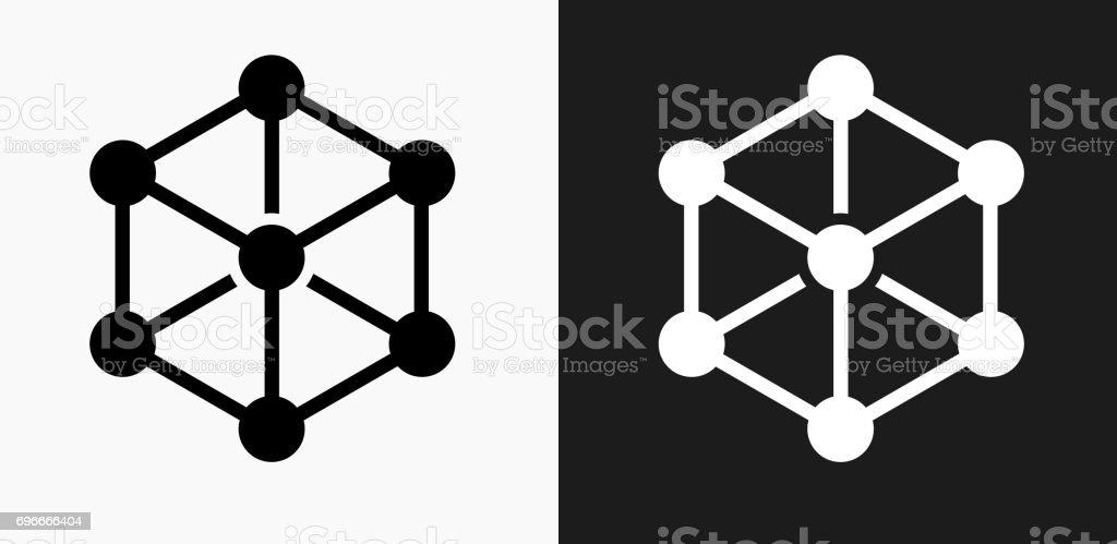Chemische Verbindung Symbol Auf Schwarzweißvektorhintergründe Stock ...