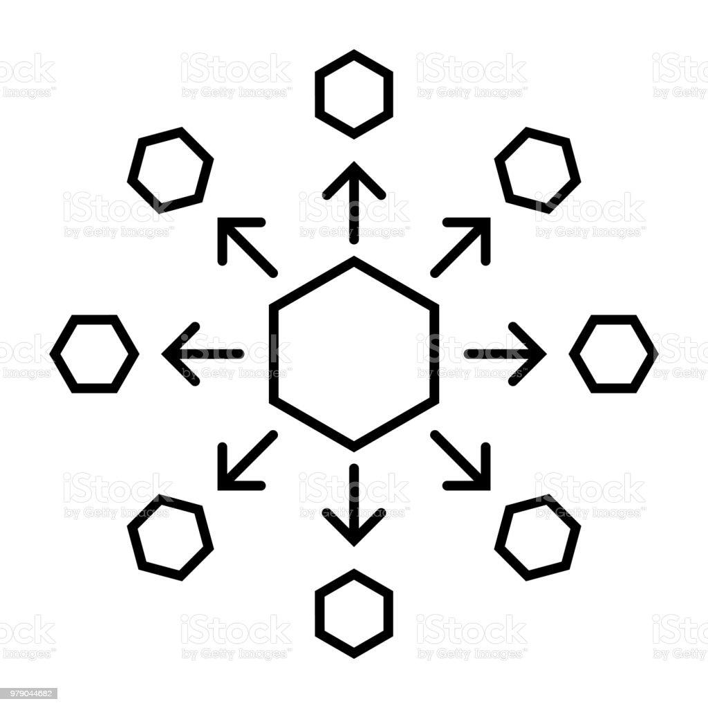 Chemische Verbindung Symbol Stock Vektor Art Und Mehr Bilder