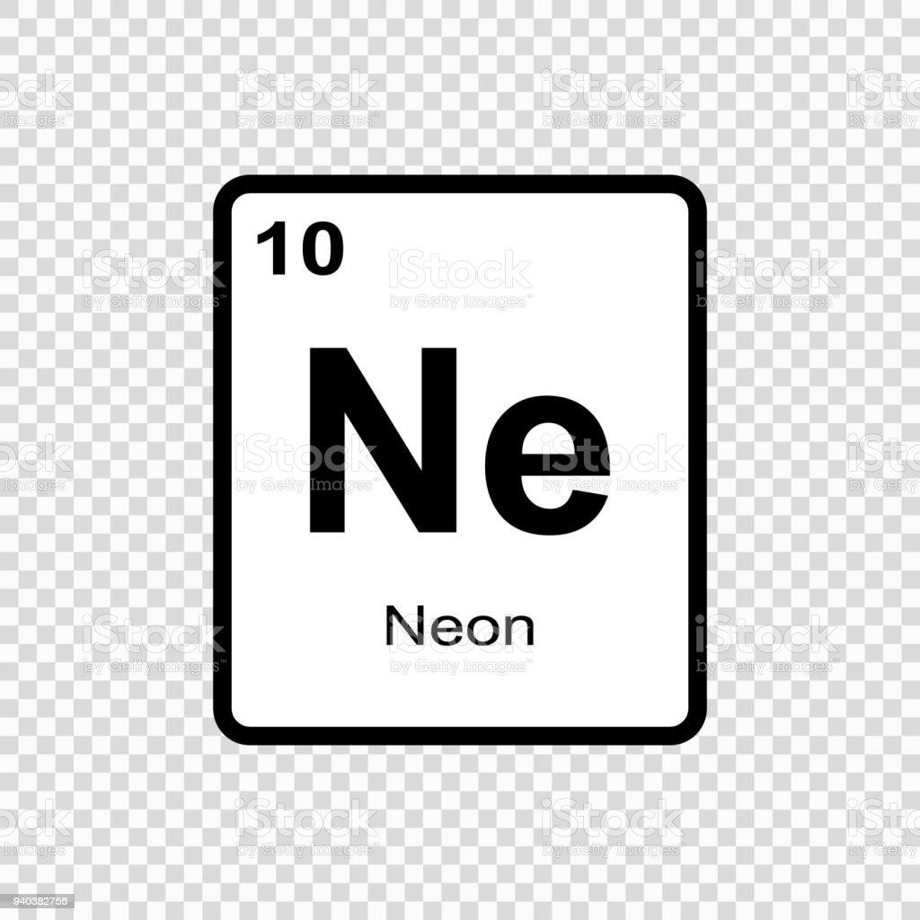 elemento qumico nen ilustracin de elemento qumico nen y ms banco de imgenes de abstracto libre