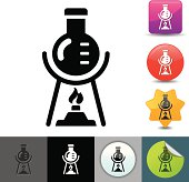 Chemical experiment icon | solicosi series