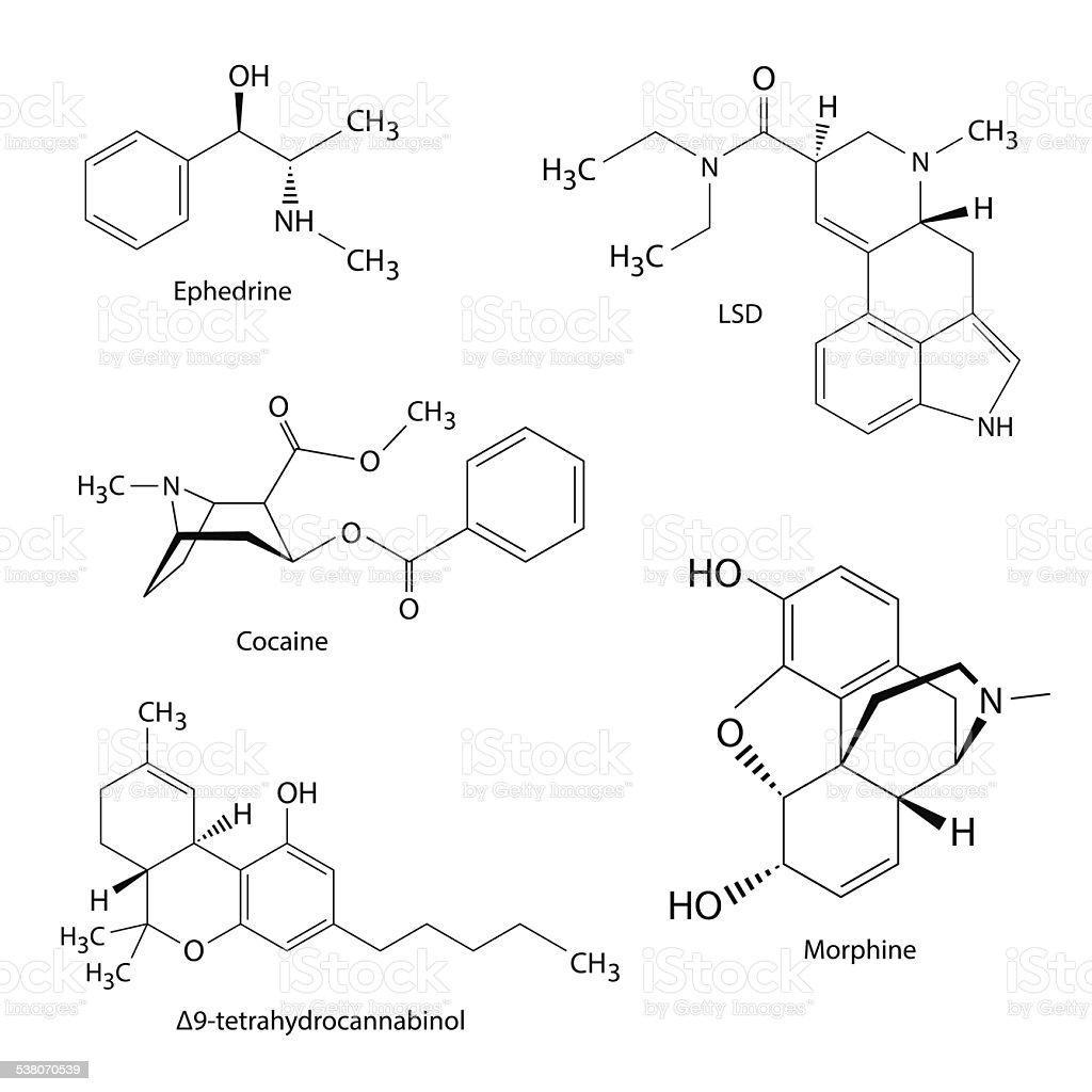 Royalty Free Thc Molecule Clip Art, Vector Images