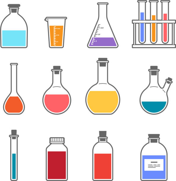 Best Beaker Illustrations, Royalty-Free Vector Graphics ...