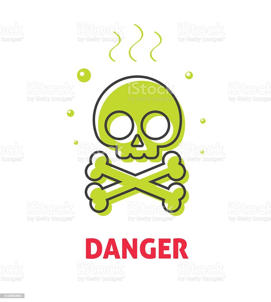 Chemical Hazard Caution Sign Waste Danger Safety Toxic Warning Alert