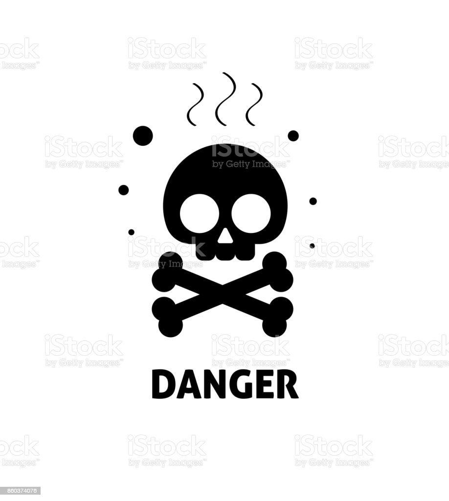 Chemical hazard sign vector illustration flat cartoon toxic risk chemical hazard sign vector illustration flat cartoon toxic risk dangerous zone symbol chemicals caution biocorpaavc Images