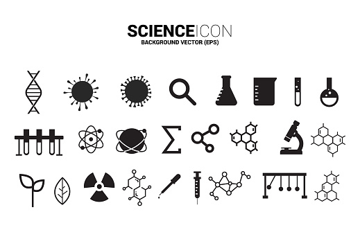Element for Research Biology and physic.