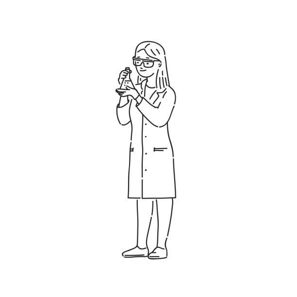 Woman Paramedic Drawing Illustrations, Royalty-Free Vector