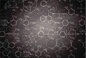 istock Chemistry blackboard 183958324