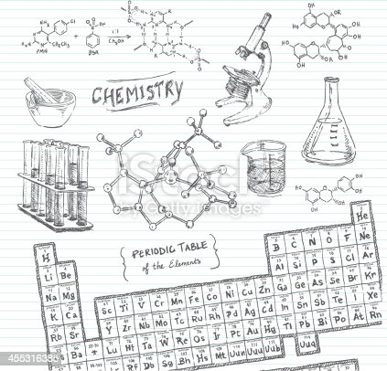 Chemistry Doodle Sketches Stock Vector Art & More Images