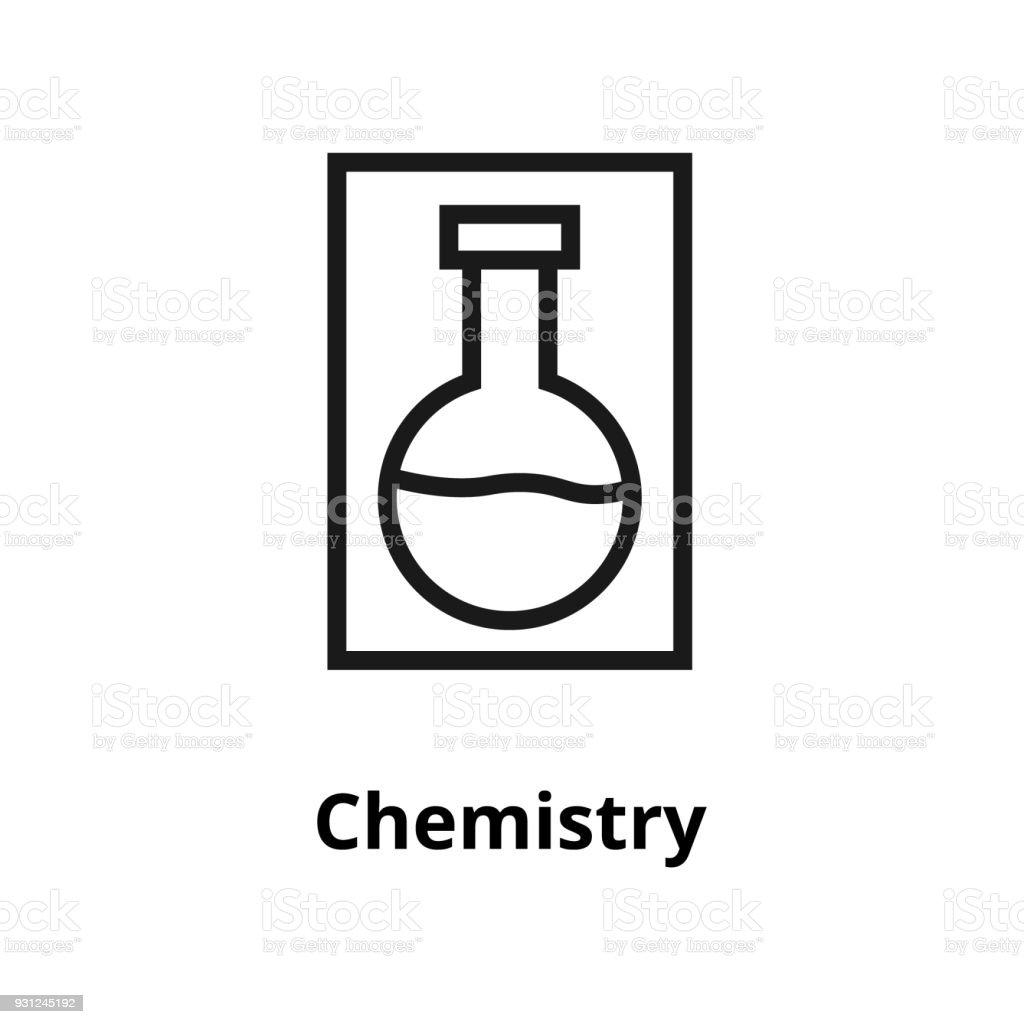 Icono de bioquímica - ilustración de arte vectorial