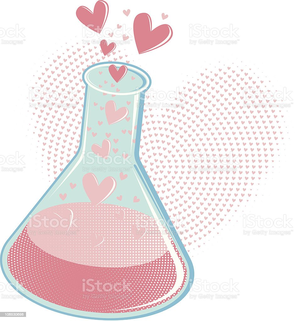 Chemistry of Love royalty-free chemistry of love stock vector art & more images of beaker