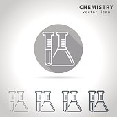 Chemistry outline icon