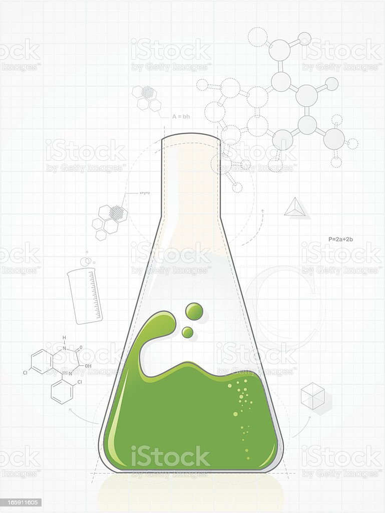 Chemistry royalty-free stock vector art