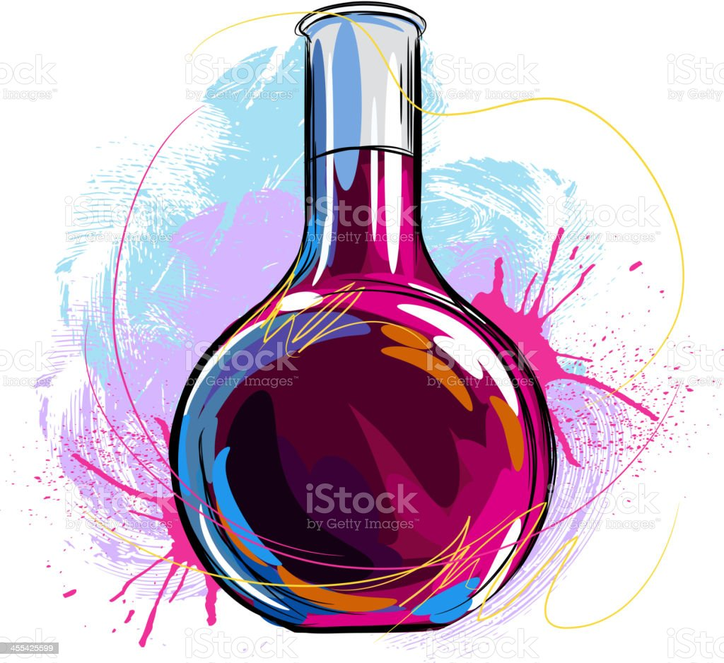 Chemistry royalty-free stock vector art