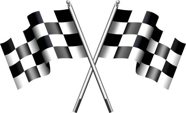 ilustraciones, imágenes clip art, dibujos animados e iconos de stock de cuadriculado banderas de carreras de motor - bandera finlandesa
