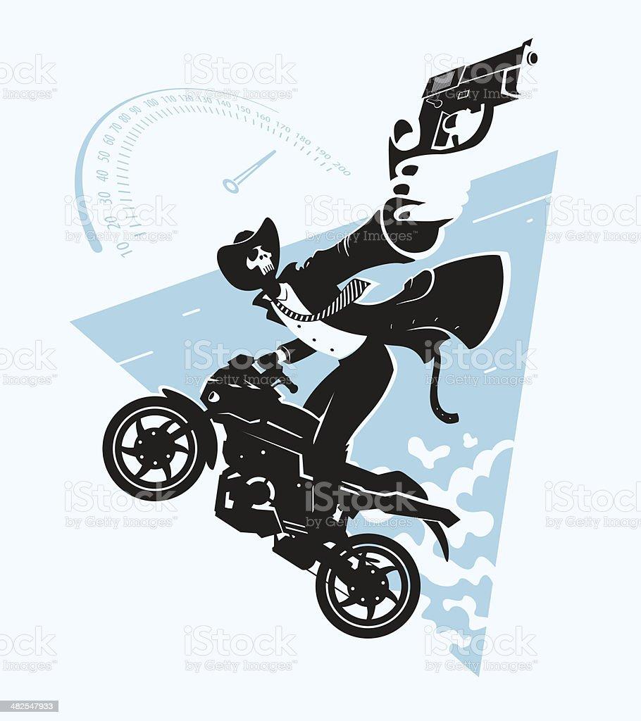 Cherish life vector art illustration