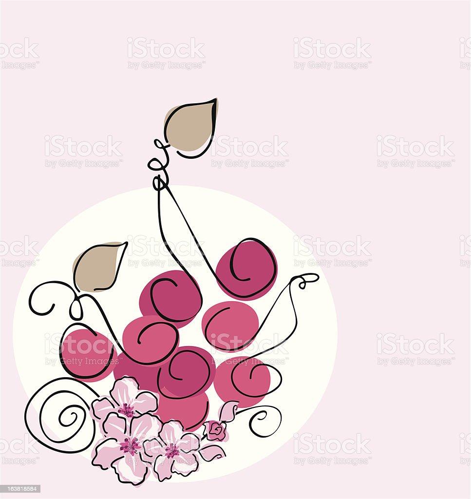cherries royalty-free stock vector art