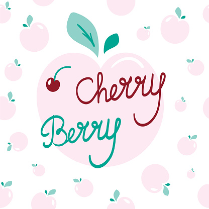 Cherry Berry Lettering