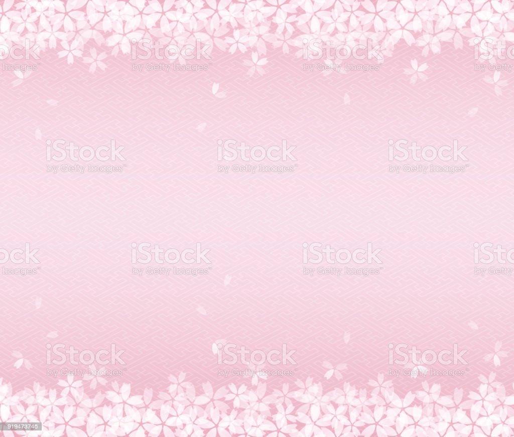 桜背景画像 のイラスト素材 919473746 | istock