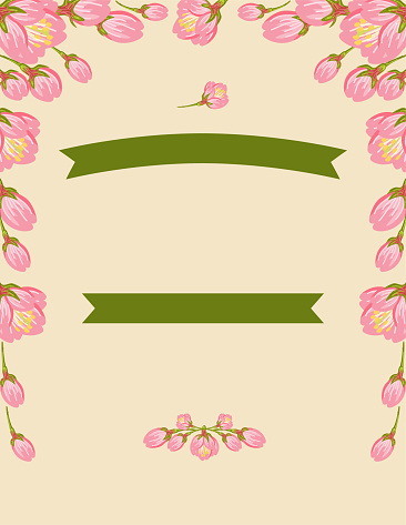 Cherry Blossom Party Invitation Template