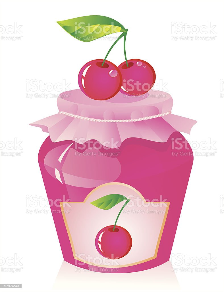 cherry jam royalty-free cherry jam stock vector art & more images of berry