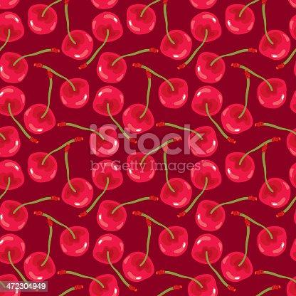 istock Cherry Pattern 472304949