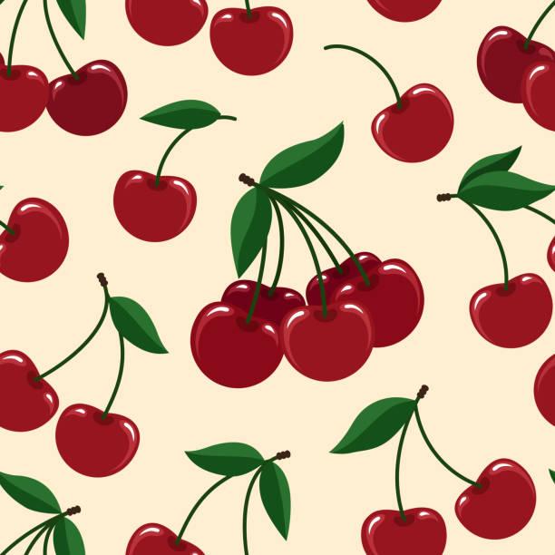 Cherry Illustrations Royalty Free Vector Graphics Amp Clip Art Istock