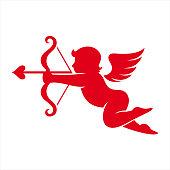 Cherub, Cupid, Angel, God of love, Valentine