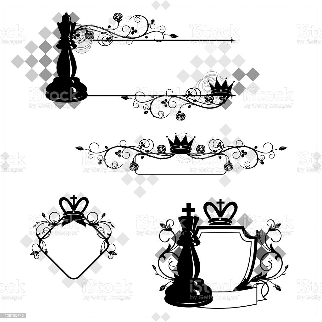 Chess Frames And Banners Stock Vector Art & More Images of ...