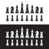 Chess icons.