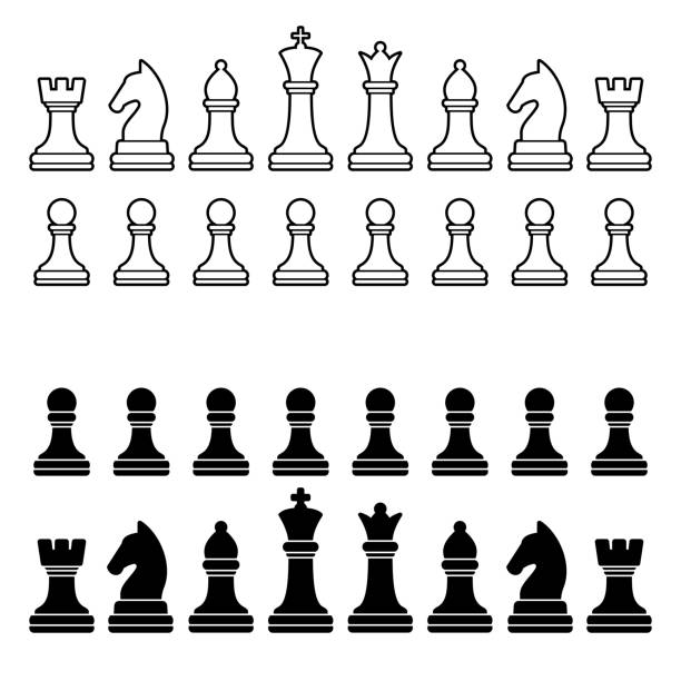 Royalty Free Chess Piece Clip Art, Vector Images ...
