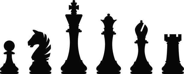 Top 60 Chess Pieces Clip Art, Vector Graphics and ...
