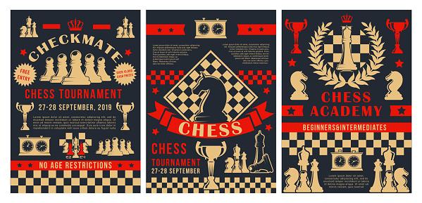 Chess sport tournament, professional academy