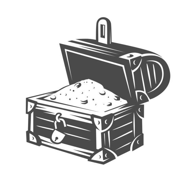 brust. schwarz / weiß-objekte. - kanzlerin stock-grafiken, -clipart, -cartoons und -symbole