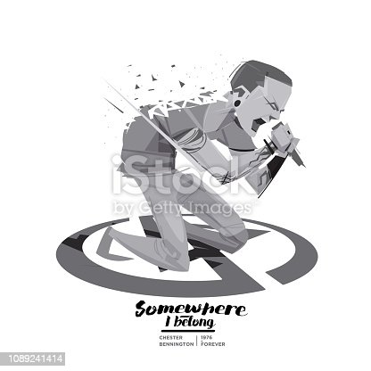 Linkin Park Live Concert Vector For Free Ai Svg And Eps