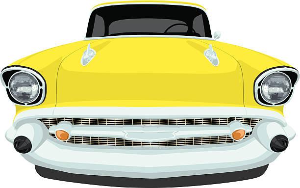 Royalty Free Chevrolet Bel Air Clip Art Vector Images
