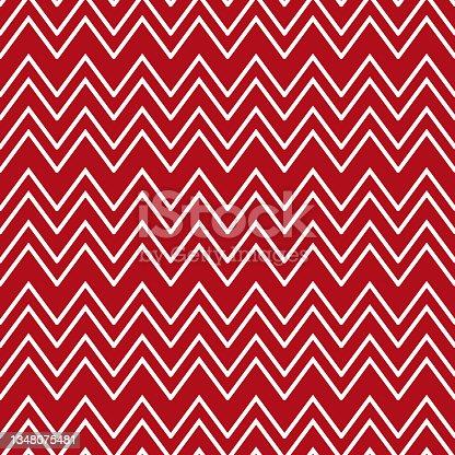 istock chevron pattern. Seamless Zig-zag pattern. Vector illustration 1348075481