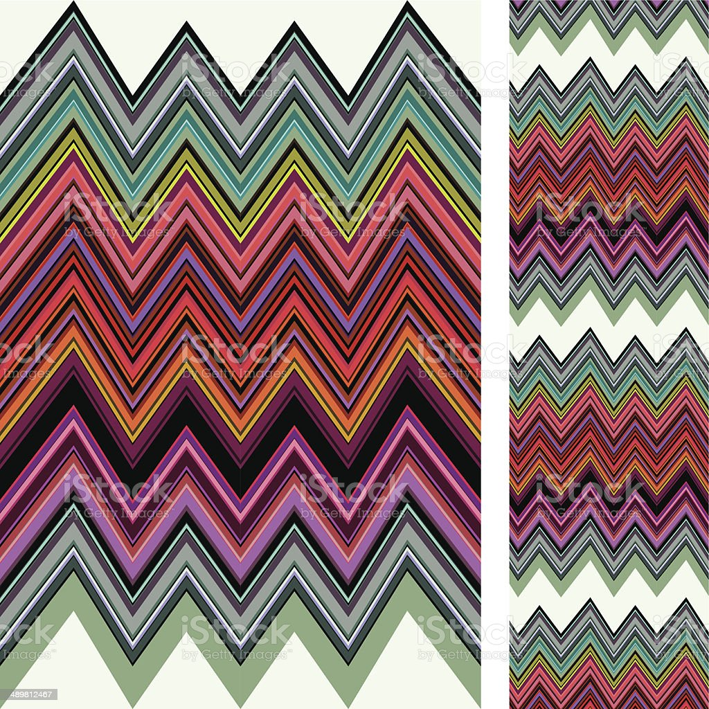 Chevron seamless pattern royalty-free stock vector art