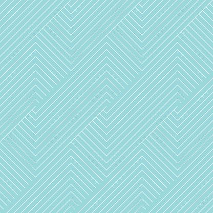Chevron striped pattern seamless green aqua and white colors.