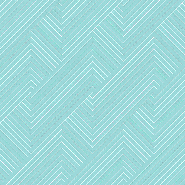 chevron striped pattern seamless green aqua and white colors. - бесшовный узор stock illustrations