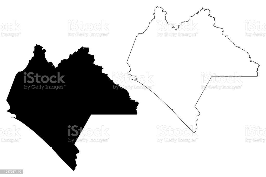 Ilustración De Chiapas Mapa Vector Y Más Vectores Libres De Derechos