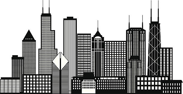 Royalty Free Chicago Skyline Clip Art, Vector Images ...