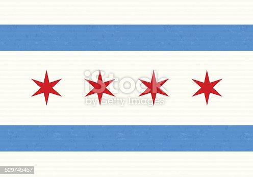 chicago flag stock vector art 529745457 | istock